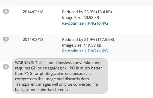 ewww image optimizr